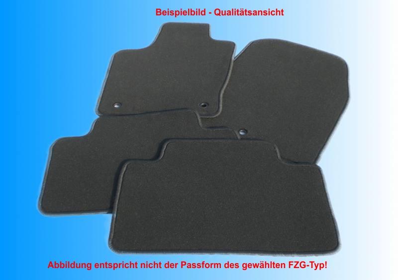Fußmatten Kettelung blau Porsche Boxster 986 1996-2004 Automatten